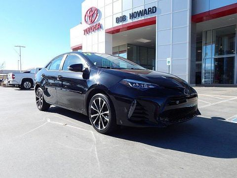 Certified Pre-Owned 2017 Toyota Corolla SE***CALL BH TOYOTA**405-936-8600** Front Wheel Drive Sedan