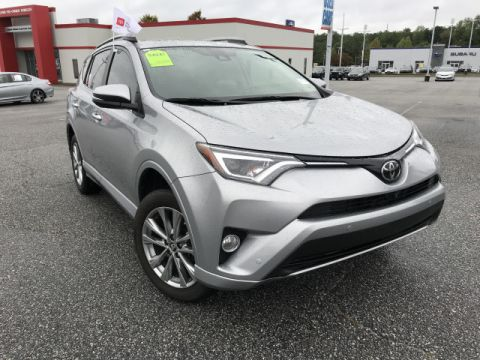 Certified Pre-Owned 2017 Toyota RAV4 Platinum****CALL BH TOYOTA**405-936-8600** Front Wheel Drive SUV