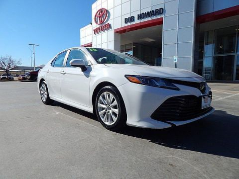 Certified Pre-Owned 2018 Toyota Camry LE**CALL BH TOYOTA**405-936-8600** Front Wheel Drive Sedan