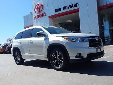 Certified Pre-Owned 2016 Toyota Highlander XLE****CALL BH TOYOTA**405-936-8600**