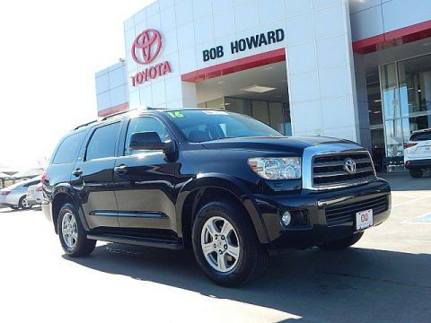 Certified Pre-Owned 2016 Toyota Sequoia SR5****LEATHER**DVD**CALL BH TOYOTA*405-936-8600* Rear Wheel Drive SUV