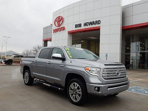 Certified Pre-Owned 2017 Toyota Tundra Platinum***4WD**CALL BH TOYOTA**405-936-8600** Four Wheel Drive Pickup Truck
