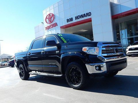 Certified Pre-Owned 2017 Toyota Tundra SR5***4WD**CALL BH TOYOTA**405-936-8600** Four Wheel Drive Pickup Truck