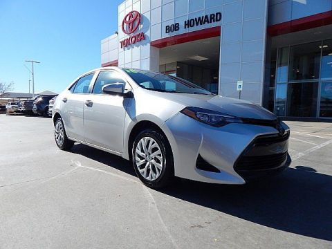 Certified Pre-Owned 2018 Toyota Corolla LE**CALL BH TOYOTA**405-936-8600** Front Wheel Drive Sedan